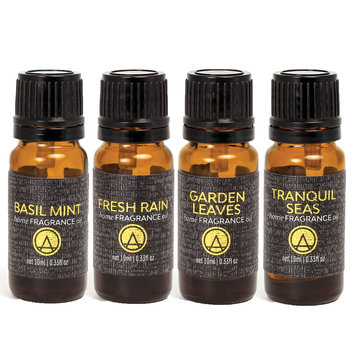 Aesthetic Content Home Fragrance Oils (Set of 4)Fresh