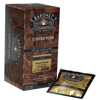 Baronet Coffee Decaf French Roast Coffee Pods - 3 pk.