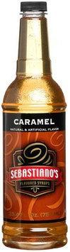 Sebastiano's Flavored Syrups, Caramel, 25.4 oz, 2 pk