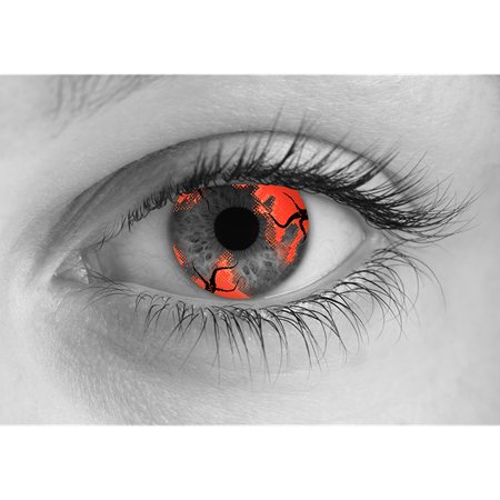 Special Effects Zombie Hemorrhage Halloween Contact Lenses