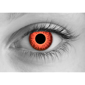 Special Effects Zombie Rage Halloween Contact Lenses