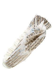 Natasha Couture Pretty Turban Head Wrap, Size One Size - Ivory
