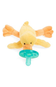 WubbaNub Infant Plush Toy Pacifier - Baby Yellow Duck