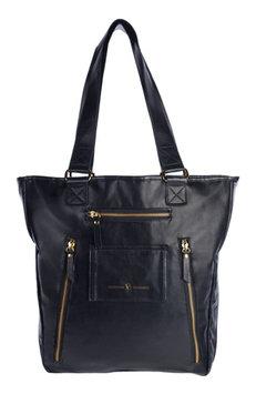 Infant Vilah Bloom Cafe Crossover Diaper Bag - Black
