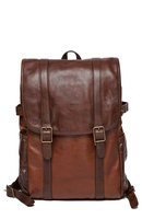 Moore And Giles Men's Moore & Giles Crews Leather Backpack - Brown