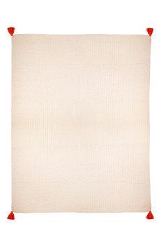 Meri Meri Organic Cotton Quilted Blanket, Size One Size - Pink