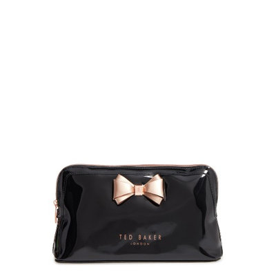 Ted Baker London Large Cosmetics Case, Size One Size - Jet