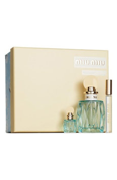 Miu Miu L'Eau Bleue Eau De Parfum Set ($163 Value)
