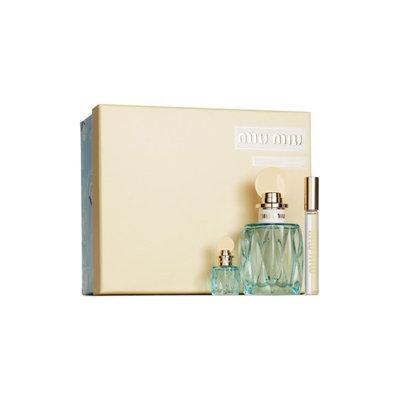 Miu Miu L'Eau Bleue Eau De Parfum Set ($163 Value)