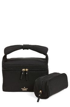 Kate Spade New York Haring Lane - Joelie Nylon Cosmetics Case, Size One Size - Black