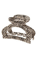 France Luxe Cutout Jaw Clip, Size One Size - Metallic