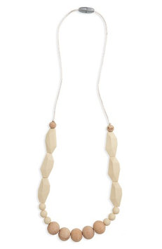 Infant Bella Tunno Teething Necklace, Size One Size - White