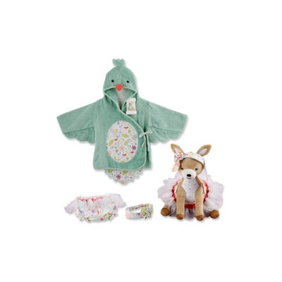 Infant Baby Aspen Sweet Tweet 4-Piece Set, Size 0-9 M - Green
