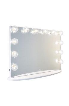 Impressions Vanity Co. Hollywood Glow(TM) Plus Vanity Mirror, Size One Size - Glossy White
