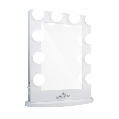Impressions Vanity Co. Hollywood Iconic(TM) Vanity Mirror, Size One Size - White