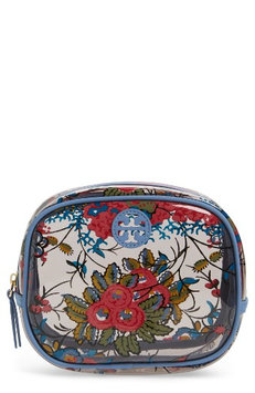 Tory Burch Parker Floral Cosmetics Case, Size One Size - Gabriella Floral