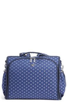 Infant Armani Junior Convertible Diaper Backpack - Blue
