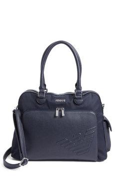 Infant Armani Junior Diaper Bag - Blue