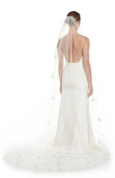 Veil Trends Fleet Embellished Bridal Veil, Size One Size - Ivory