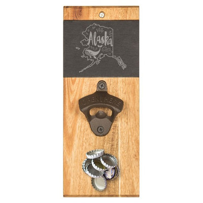 Cathys Concepts Cathy's Concepts My State Wall Bottle Opener, Size One Size - Brown