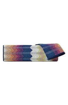 Converse Missoni Travis Bath Towel, Size One Size - Blue
