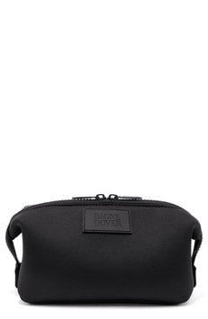 Dagne Dover Large Hunter Neoprene Toiletry Bag, Size One Size - Onyx