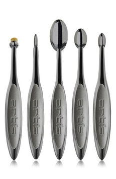 Artis Elite Smoke 5-Piece Brush Set, Size One Size - Smoke