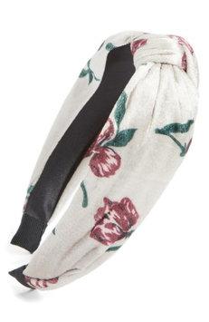 Berry Knot Headband, Size One Size - Ivory