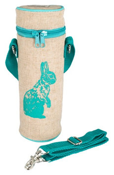 Infant Soyoung Canvas Water Bottle Bag, Size One Size - Blue/green