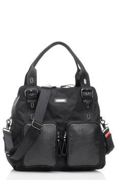 Infant Storksak Alexa Luxe Diaper Bag - Black