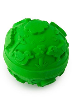 Infant Oli And Carol Baby Ball Teething Toy, Size One Size - Green