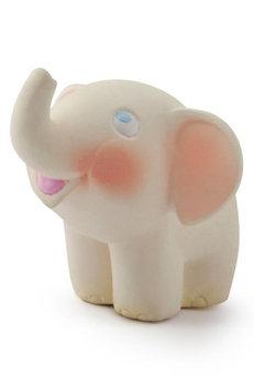 Infant Oli And Carol Nelly The Elephant Teething Toy, Size One Size - Ivory