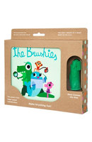 The Brushies Finger Puppet Toothbrush + Story Book - Chomps