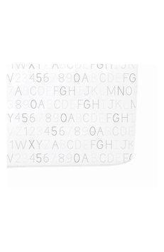 Petit Pehr Alphabet Print Crib Sheet, Size One Size - Grey