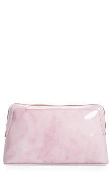 Ted Baker London Tristyn Rose Quartz Wash Bag, Size One Size - Nude Pink