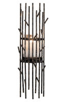 Foreside Home and Garden Twig Candle Holder Sconce
