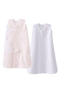 Halo Innovations Platinum Series Sleepsack Wearable Blanket & Sleepsack Swaddle Wearable Blanket Set, Size Newborn - Pink