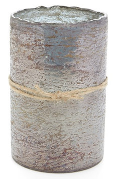 Himalayan Trading Post Smoky Grey Scented Hurricane Candle, Size One Size - Grey