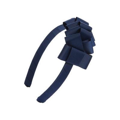 Milledeux Grosgrain Bow Headband, Size One Size - Blue