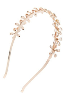 Tasha Floral Headband, Size One Size - Coral