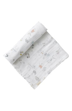 Petit Pehr Magical Forest Swaddle Blanket, Size One Size - Grey