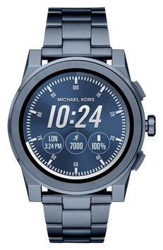Michael Kors Grayson Navy-Tone Smartwatch