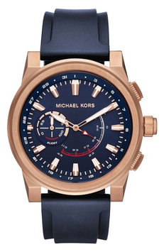 Michael Kors Access Grayson Silicone-Strap Hybrid Smart Watch