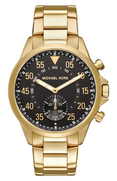 Michael Kors Gage Gold-Tone Hybrid Smartwatch