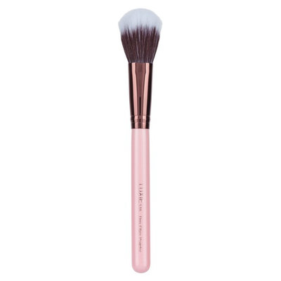 Luxie 516 Rose Gold Duo Fibre Powder Brush, Size One Size - No Color