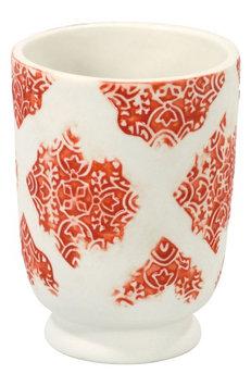 John Robshaw Lakki Porcelain Tumbler, Size One Size - Coral