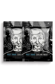 Barber Pro Post Shave Cooling Mask Duo