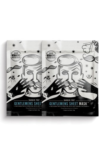 Barber Pro Gentlemen's Sheet Mask Duo