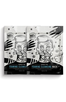 Barber Pro Foaming Cleansing Mask Duo