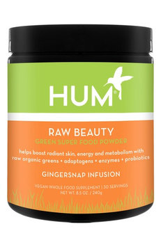 Hum Nutrition Raw Beauty Gingersnap Infusion Green Superfood Powder (Limited Edition)